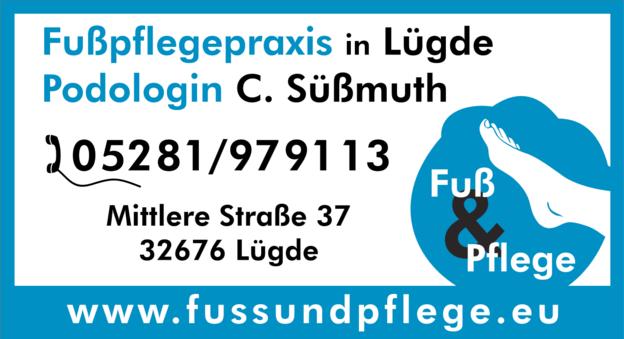 Fußpflege in Lügde und Bodenwerder – Fuß & Pflege C. Süßmuth